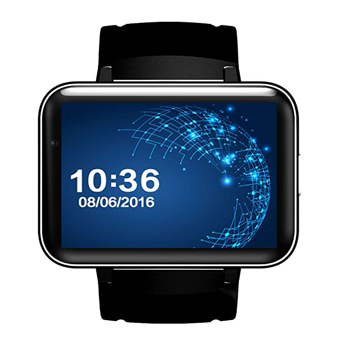 Amazon.com : OOLIFENG Bluetooth Smart Watch, 2.2 inch OLED Display Android OS Compatible Android Phone, Black : Sports & Outdoors