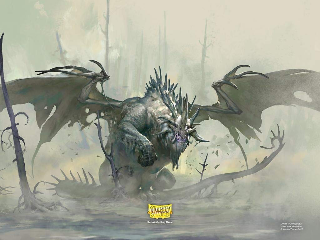Dashat Living Lunary Dragon Shield Playmat /& Life Counter Limited Edition