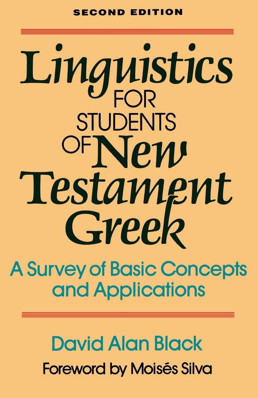 Linguistics Students New Testament Greek
