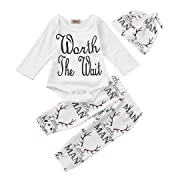 Shop the Look Memela(TM) NEW Fall/Winter Unisex Baby Layette Gift Set Clothes Set 0-18 mos (0-3 mos)