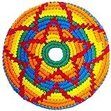 Pocket Disc Flying Disc - Crocheted Foldable