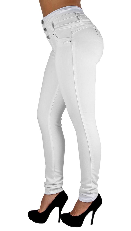 Colombian Design Butt Lift High Waist Skinny Jeans