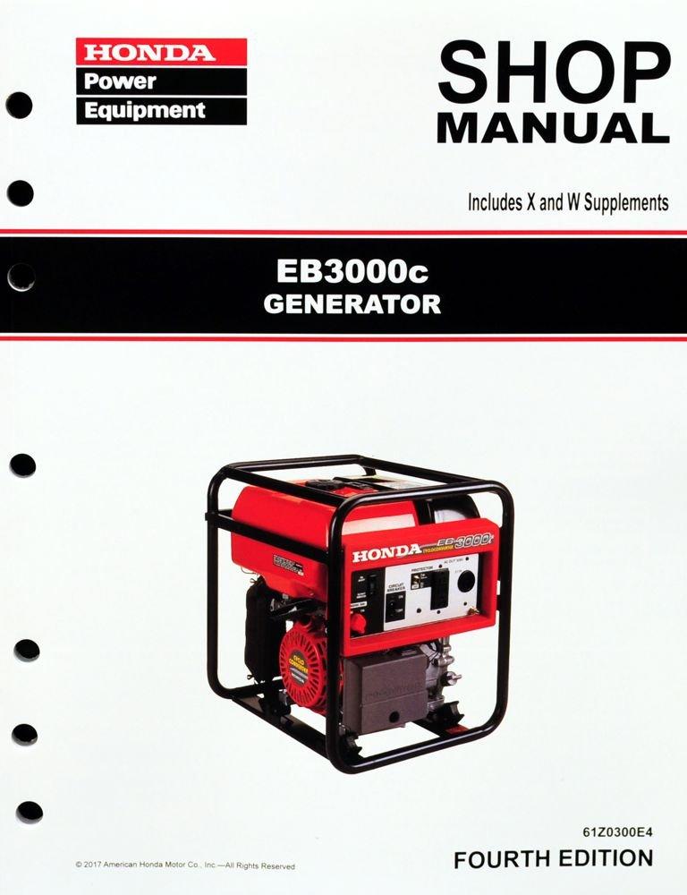 Honda EB3000 Generator Service Repair Shop Manual