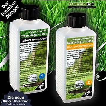 Berühmt Rasen-Dünger Kalium Flüssig HIGH-TECH NPK - Rasen Herbst-Dünger @UM_69