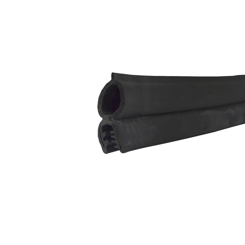 Motorhome /& Caravan Door Seal 4.9M Trim Rubber Trunk Locker Top Tube Lip Seal JG06