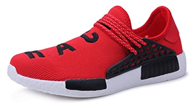 2cea377a4 Image Unavailable. Image not available for. Colour: JiYe Men's Running  Shoes Free Transform Flyknit Fashion Sneakers ...
