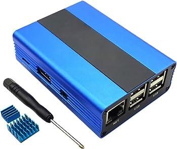 Raspberry Pi 3 ,Pi 2, B+ Aluminum Case Enclosure