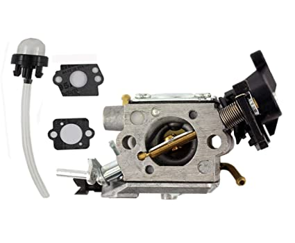 amazon com: xa carburetor for husqvarna chainsaw 445 450 445e 450e 450ii  carb c1m-el37b 506450401: automotive