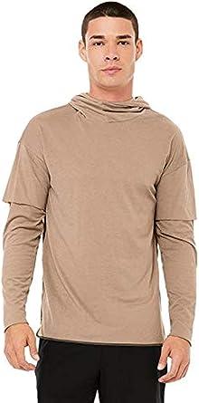 Alo Yoga Mens Core Long Sleeve Hoodie