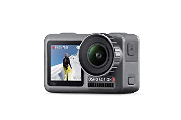 Dji Osmo Action Cam Cámara Digital Con 2 Pantallas Impermeable 4k Hdr Video 12 Mp Con ángulo De 145