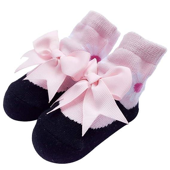 Mitlfuny Recién Nacido Calcetines para Bebés de Algodón ...