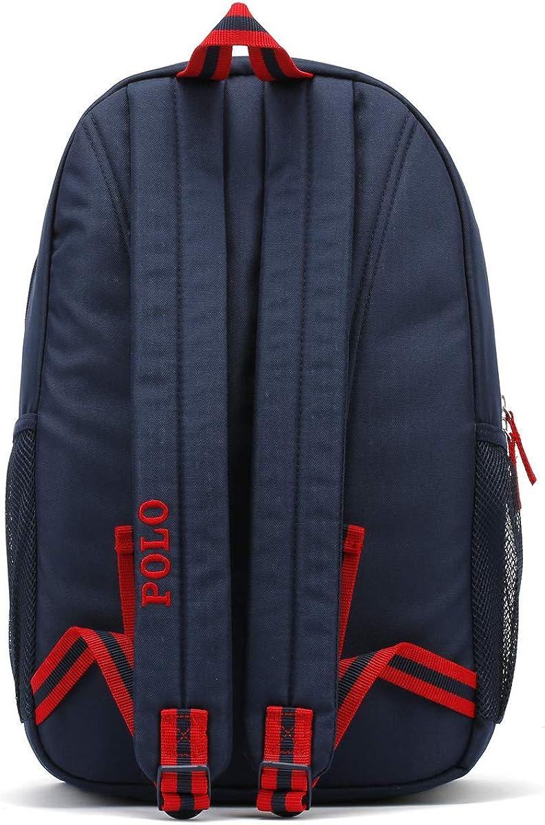 Ralph Lauren Azul Marino/Rojo Academy mochila: Amazon.es: Zapatos ...