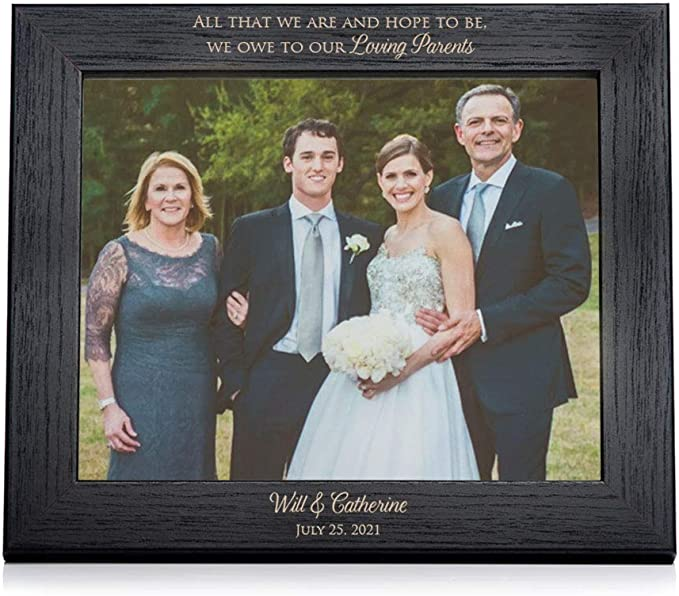 as a last name belong to you Rustic Gift Father Daughter Dance Bride  Personalized Bride Wedding Picture Frame 5x7 Keepsake My Last Kiss