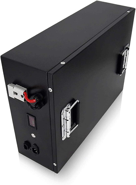 LeiQuanQuan Batería De Litio Impermeable, 24V 48V 100AH 1200AH Batería Lipo De Almacenamiento De Energía, Alta Potencia, para La Industria De Robots RV LiFePo4 Batería (Size : 24V 500AH)