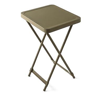 amazon 実物 新品 米軍bedside metal folding テーブル サイドテーブル