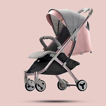 Los carros de bebé pueden sentarse Horizontal plegable ...