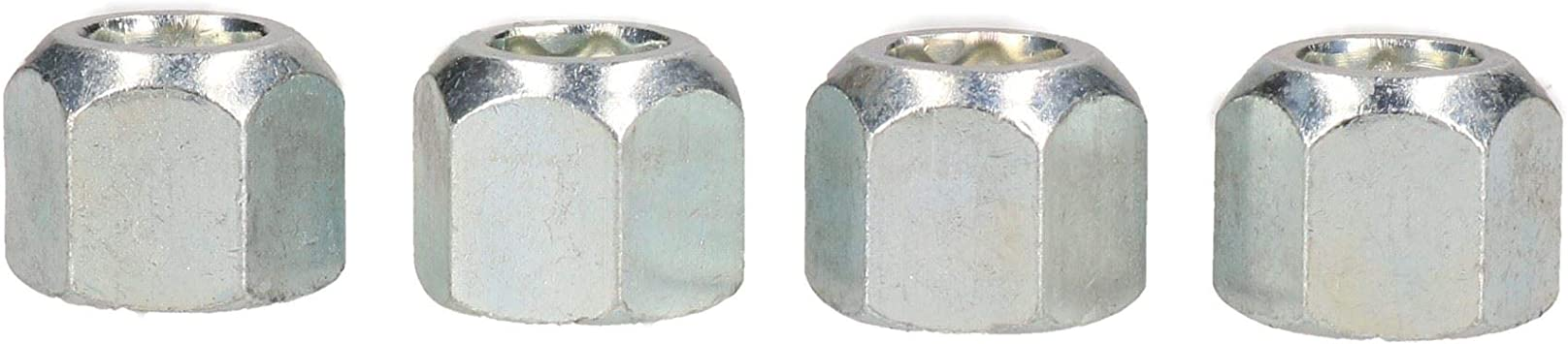 Replacement Wheel Nuts for Indespension Boat Jetski Marine Coaster Trailers 4pk