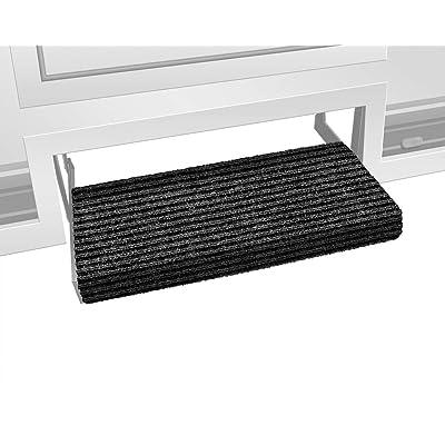 Prest-O-Fit 2-0420 Ruggids RV Step Rug Black Granite 23 In. Wide: Automotive [5Bkhe0801866]