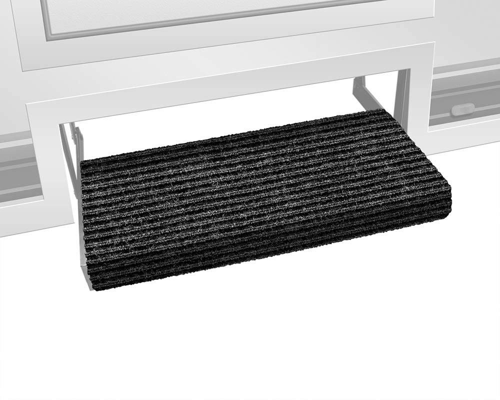 Prest-O-Fit 2-0420 Ruggids Granite Black 19' X 23' RV Step Rug