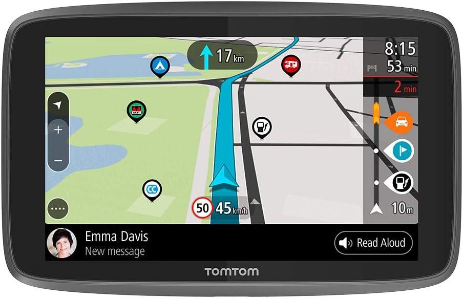 Tomtom Camping Navigationsgerät Go Camper 6 Zoll Sonderziele Für Wohnmobile Und Wohnwagen Karten Updates Welt Updates über Wi Fi Tomtom Road Trips Navigation