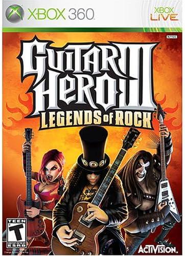 Guitar Hero III: Legends of Rock - Xbox 360 by Activision: Amazon ...