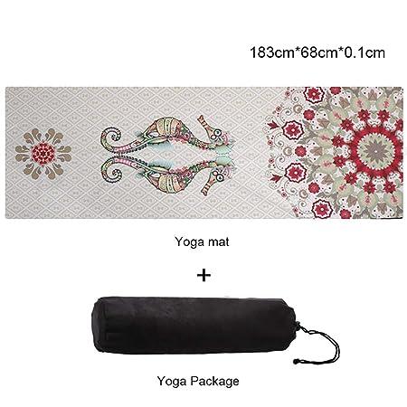 XRFF Ultrafino Yoga Mat - portátil de Viaje Estera de la ...