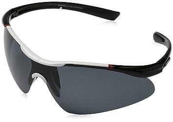 Casco Sportbrille SX-20 Polarized Sonnenbrille Fahrrad Brille Ski Snowboard, 09.1100., Farbe weiß