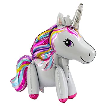 ShenLiNan_EU 3D Gran Unicornio Balón Hinchable Cartoon Poni Niños ...