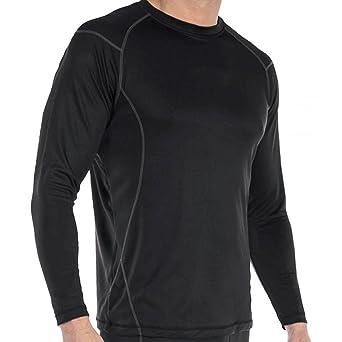 Camiseta Térmica Pro para Hombre - Ligero, Comodidad y Sequedad - Avanzado Poliéster Tejido +