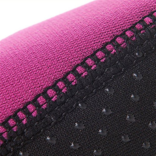 Distinct Outdoor Quick-drying Water Shoes Anti-slip Beach Pool Diving Socks 3MM Low Cut Swimming Footwear XXS~XXL Rose Red EIpCUuO