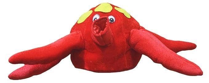 Petitebelle Rojo Pulpo Suave Sombrero para Fiestas de Disfraces ...