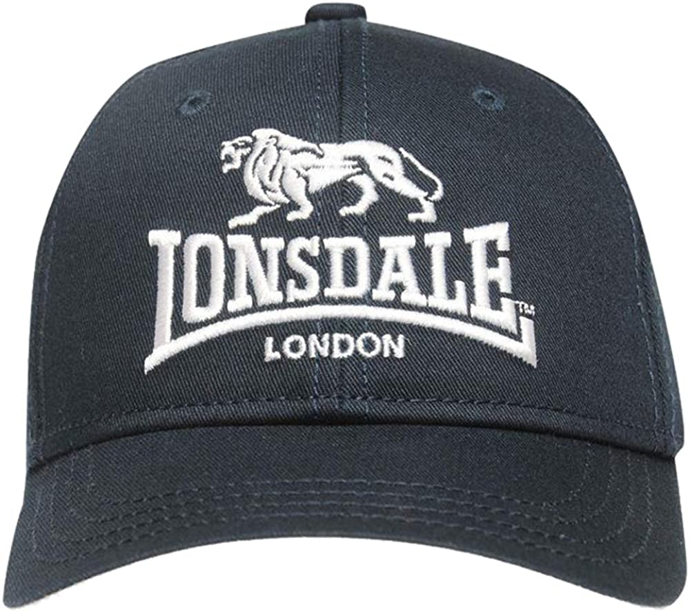 Lonsdale/ Childrens Breathable Curved Peak TT Cap One Size