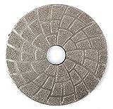 4 Inch Vacuum Brazed Diamond Gringing Pads Grit 30 for Granite Glass Concrete Ceramics Hard Materials