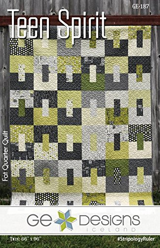 Teen Spirit Quilt Pattern by GE Designs KGE187 by G.E. Designs