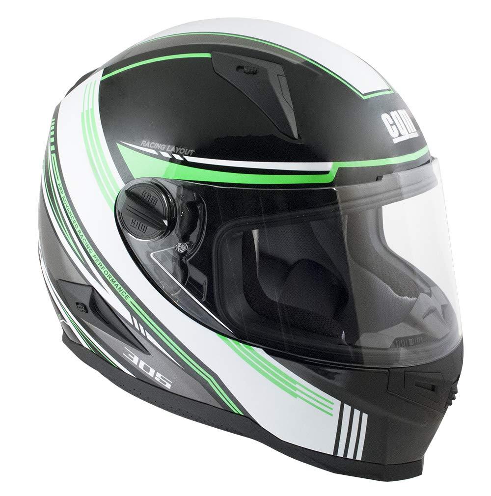 CGM Casco integrale 305G STOCCARDA Verde XS