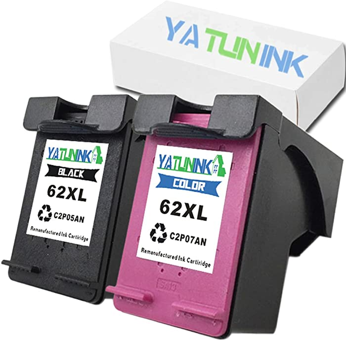 Top 9 Hp Printer Cartridge 62Xl Black And Color