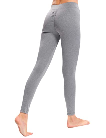 b2d823b20ce12 Amazon.com: CHRLEISURE Workout Leggings for Women - High Waisted Leggings  with Scrunch Butt, Push Up, V Shape Waist Leggings: Clothing