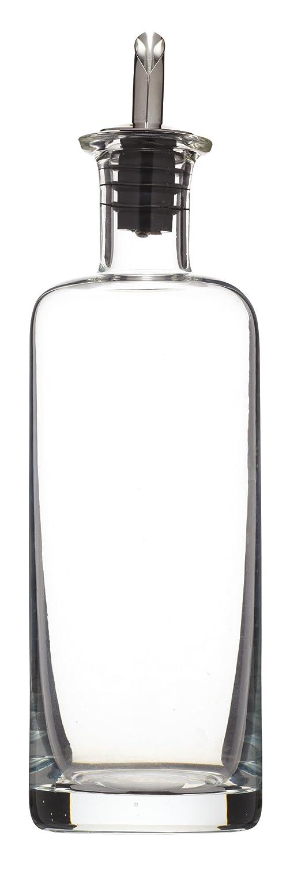 Kitchencraft Botella para Aceite con Tapón Dosificador 450 ml, Cristal, Blanco, 6.7x6.7x25 cm: Amazon.es: Hogar