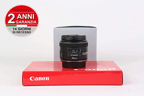 Canon EF 28mm f/2.8 IS USM - Objetivo para Canon (Distancia Focal ...
