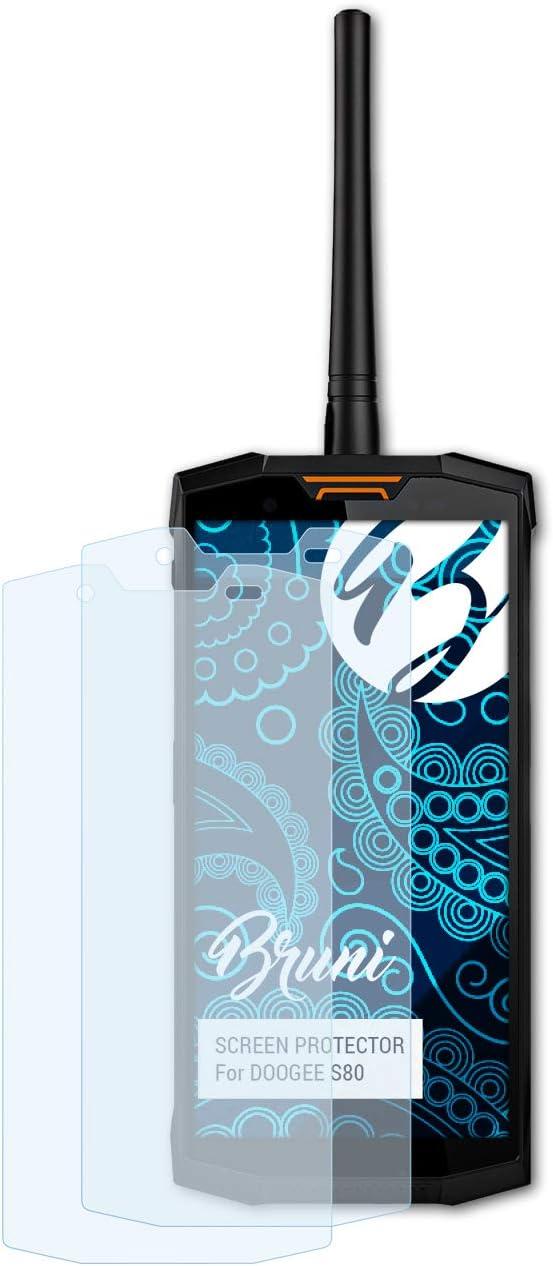Bruni Película Protectora Compatible con DOOGEE S80 Protector ...