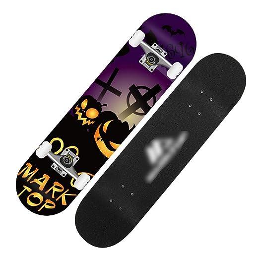 Skateboard Patinete estándar de Cuatro Ruedas para ...