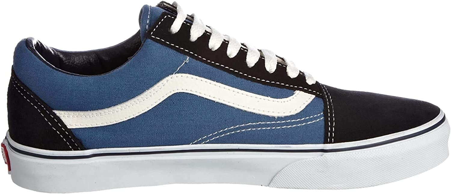 Vans Old Skool, Sneakers Basses mixte adulte, Bleu (Navy), 38.5 EU (5.5 UK)