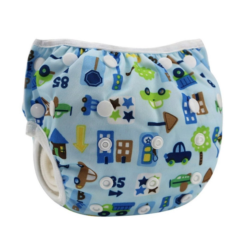 Z-Chen 2er Pack Baby Badewindelhose Schwimmwindel