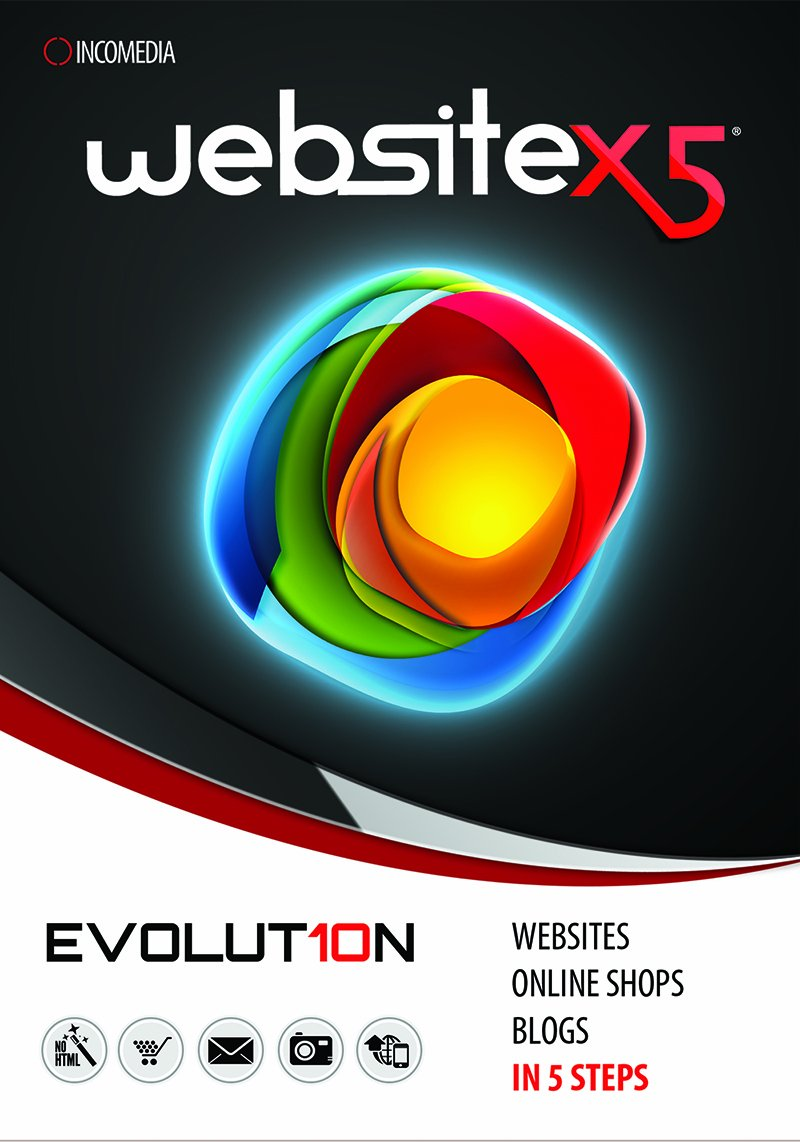 WebSite X5 Evolution 10 [Download] by Incomedia
