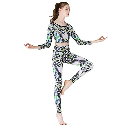 CWDXD Traje de Yoga, para Mujer, Secado Rápido, Slim Fit ...