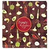MCS MBI Family Recipes 3-Ring 5-Inch-by-7-Inch Scrapbook Kit, Recipe Cards