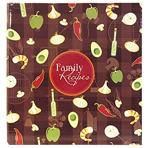 Family recipe book amazon mcs mbi 3 ring bound scrapbook kit family recipes 881850 solutioingenieria Image collections