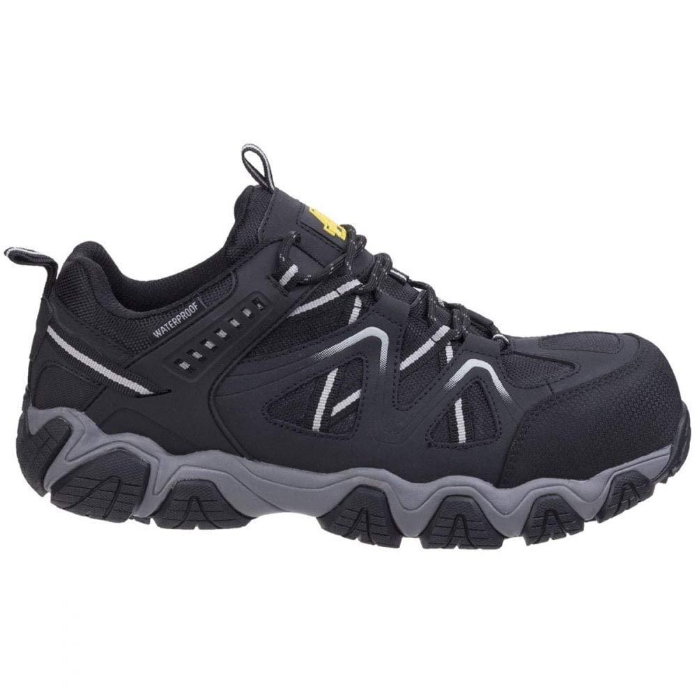 Amblers Safety Unisex Schuhe Wanderschuhe Schwarz 45-46