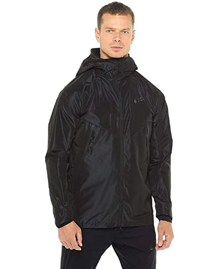 af02b5954898 Amazon.com  Nike Mens Air Tech Bonded Woven Parka New