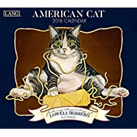 American Cat 2018 Calendar: Includes Free Download